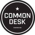 Common Desk Logo Circle Black 03